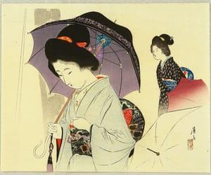 1900s, japanese fashion, and kimono image