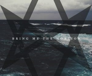 bmth, dark, and ocean image