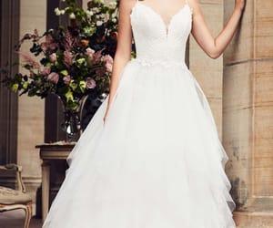 belleza, moda, and wedding image