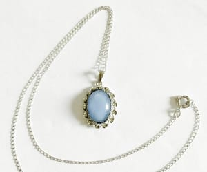 etsy, jewellry, and blue pendant image