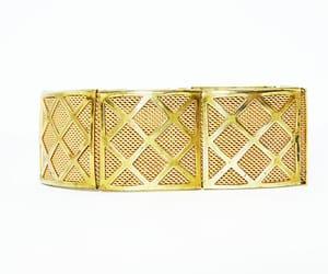 etsy, hinged bracelet, and hinged links image