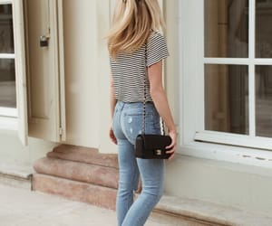 bag, chic, and girl image