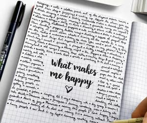 journal and words image