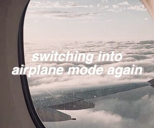 aesthetic, airplane, and header image