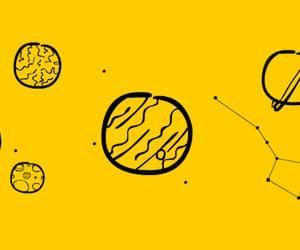 gif, aesthetic, and yellow image