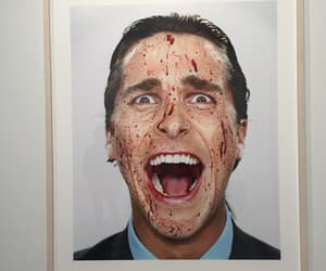 am, american psycho, and movie image