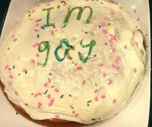cake, funny, and gay image