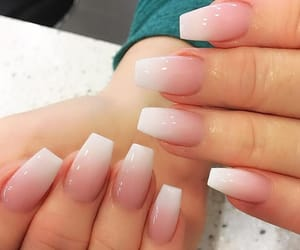acrylic, nails, and acrylic nails image