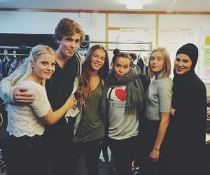 skam, noora, and chris image
