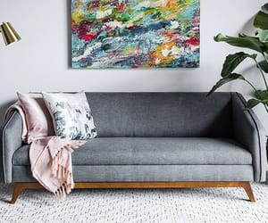 couch, dream house, and couches image