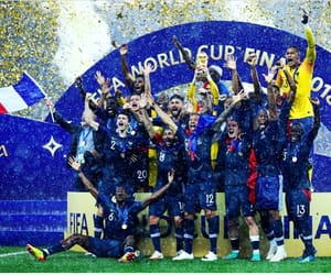equipe de france, football, and coupe du monde image