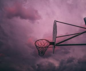 sky, pink, and Basketball image