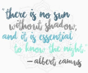 albert camus, philosophy, and quote image