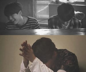 black and white, yoonkook, and 슙국 image