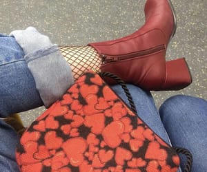 boot, fashion, and lether image