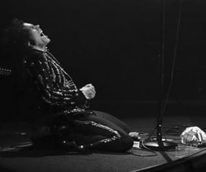 Harry Styles, b&w, and harry styles tour image