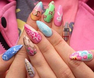 designer and nails image
