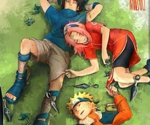 naruto, team 7, and anime image