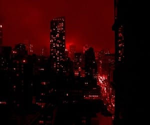 city, aesthetic, and red image