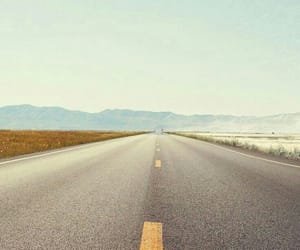 highway and mountains image