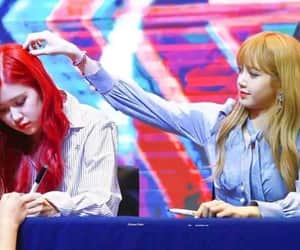 k-pop, pink, and jennie image