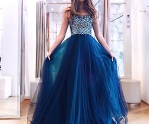 prom dress and royal blue prom dress image