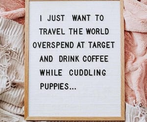 coffee, target, and travel image