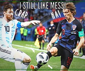 argentina, modric, and Croatia image