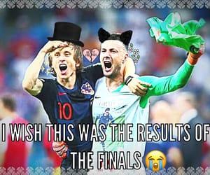 Croatia, denmark down!, and football image