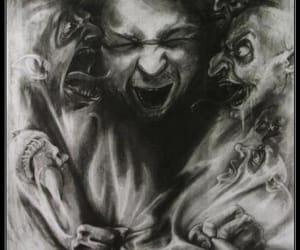 art, dark art, and dark image