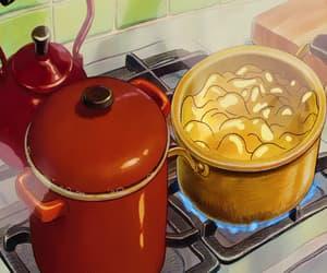 anime, cook, and food image