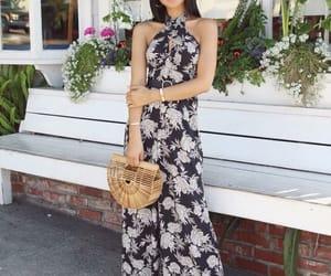 beauty, summer dress, and fashion image