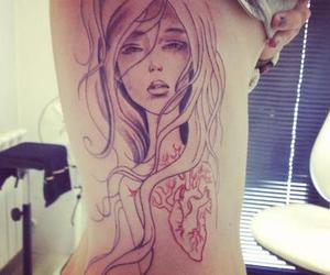 awesome, girl, and tattoo image
