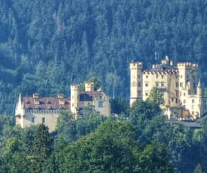 Alps, castle, and fairytale image