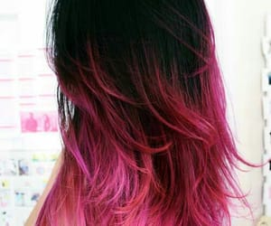 color, color hair, and pink hair image