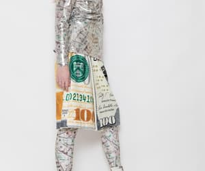 cash, money, and dollar bill image