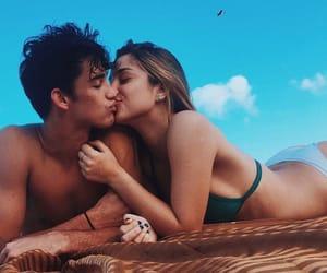 amor, kiss, and summer image