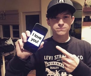 spider man, tom holland, and cute image