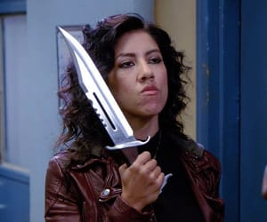 brooklyn nine nine, rosa diaz, and stephanie beatriz image