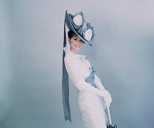 audrey hepburn, my fair lady, and beautiful image