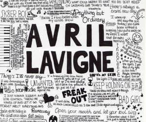 arte, Avril Lavigne, and diy image