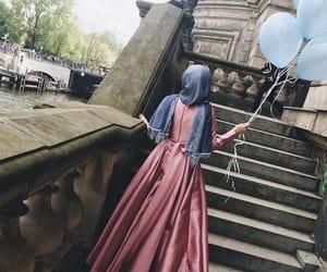 hijab, islam, and حجاب image