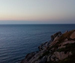 blue, corse, and france image