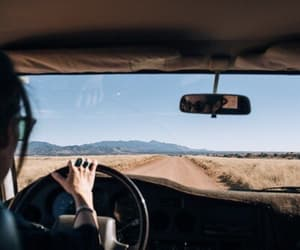 travel, car, and theme image