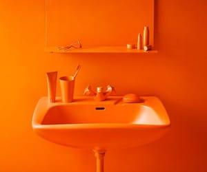 bathroom, sink, and hygiene image