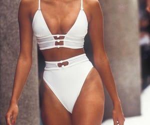 bikini, white, and fendi image