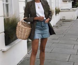 gold, shirt, and skirt image