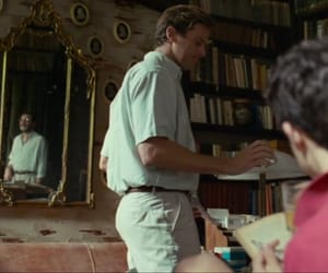 couple, elio perlman, and armie hammer image
