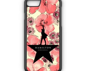 phone cases, iphone 8, and hamilton flowers image