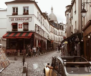 france, montmartre, and photography image